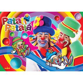 Painel Para Festa *patati Patatá R$ 69,98 - 2,00x1,40mt