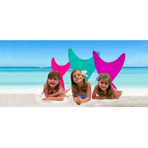 Swimtail Little Mermaids Colas De Sirena Para Nadar C/bikini