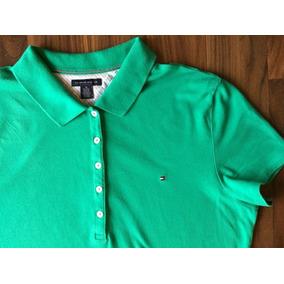 6dafdde0b5 Camisa Polo Feminina Tommy Hilfiger Gg Importada Gg Única