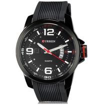 Relógio Curren Masculino Analógico Casual 8174