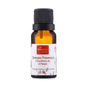 Sinergia Natural Presença 15ml Livealoe