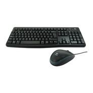 Teclado Y Mouse Logitech Mk120 Usb Multimedia Plug And Play