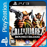 Call Of Juarez Ps3 Bound In Blood Elegi Reputacion Oferta!!!