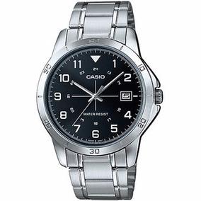 Reloj Casio Mtp-v008 Negro ¡envío Gratis!