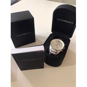 6a2d96129e1 Relogio Emporio Armani Ar0341 Pelle Direto Dos Eua - Relógios De ...