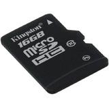 Memoria Kingston 16 Gb Microsdhc Clase 10 + Adaptador