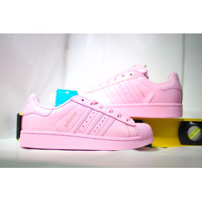 Tenis adidas Super Star Pink Shell Pastel Oferta S41829