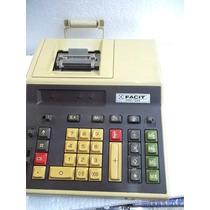 Maquina Somar Facit 2521 Não Funciona