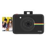 Camara Polaroid Snap Instantanea Digital Zink 10mp Negro