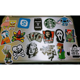 Pack Stickers Laptop,cuaderno,moto 7-12 Cm
