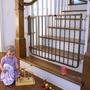 Cardenal Puertas Escalera Hierro Forjado Decoración Puerta