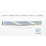 Cabo Flat 26 Vias 150mm X 13,5mm X 0.5 Normal - Fcnb-05
