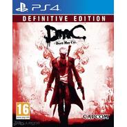 Devil May Cry Definitive Edition- Ps4 Fisico Nuevo & Sellado