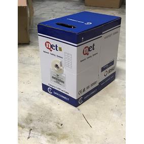 Cable Utp Telefonico Cat3 2 Prs, Gris Qnet