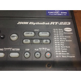 Maquina De Ritmos Caja De Ritmos Zoom Rt-223