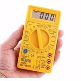 Kit 14 Multimetro Digital Dt-830b 7 Amarelo E 7 Preto
