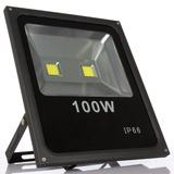 Reflector Led Blanco 100w Led Alta Potencia Exterior Ip66
