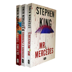 Kit - Stephen King - Trilogia Bill Hodges - 3 Livros