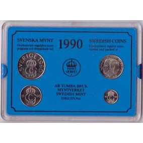 Suecia 10, 50 Ore Y 1,5 Kronor 1990 * Mint *