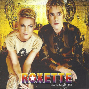 Cd Roxette Live In Zurich 1991 Original Dressed For Sucess