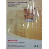 Organizador De Ropa Lona Closet Pleglable Cuarto
