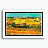 Quadro Van Gogh 60x40cm Pinturas Pintores Famosos Decoracao