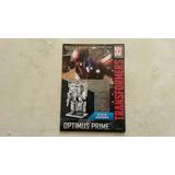 Metal Earth 3d Metal Model Kit. Transformers. Optimus Prime