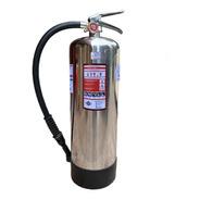 Extintor Profesional Cold Fire 6 Litros Plateado