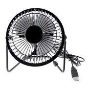 Mini Ventilador Usb Metalico Sewy Apto 220v Pc Notebook Net