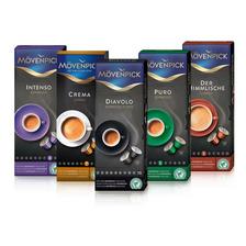 Set 50 Cápsulas Café Mix Mövenpick Para Nespresso®