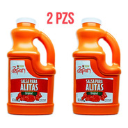 Duo Pack Salsa Para Alitas Zafran De 3.75kg ( 2 Pzs )