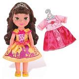 Muñeca Disney Princess Belle Para Niño Con Vestido Extra
