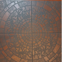 Ceramica Terracota Antideslizante 40x40 Exterior/int 1° Cal.