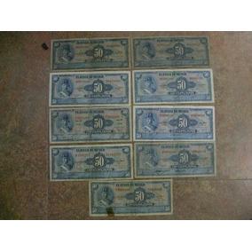 Lote De 9 Billetes Allende