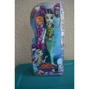 Muñeca Monster High Sirena Frankie Stein Arrecife Monstruoso