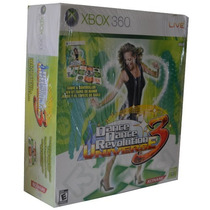 Tapete + Jogo Dance Revolution Universe 3 Xbox 360 X360