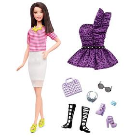 Kit Barbie Fashionistas Nº30 2016 + Roupinha + Acessórios