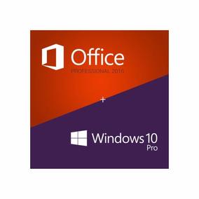 Window 10 Pro + Ofice 2016 Profesional 32/64 Bits Original