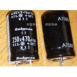 Electrolitico De 470 Microfaradios X 250 Volts Blindado