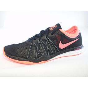 a15322da6d Tenis Nike Originales Dual Fusion Mujer Negros Coral Ligeros