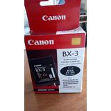 Cartucho Canon Bx 3 Color Negro Original