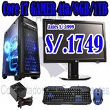 Computadora Gamer Core I7 4ta Gen 8gb Ram 1tb Disco Duro