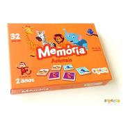 -jogo Da Memória Animais 32 Peças - Sopecca M302