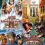 Age Of Empires + Age Of Mythology + Civilization 4 + Brindes