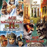Age Of Empires + Age Of Mythology + Civilization 4 + Brindes