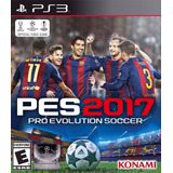 Pes Pro Evolution Soccer 2017 Ps3 Digital Con Pase Online