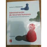 Libro Administración De Recursos Humanos. Idalberto Chiavena