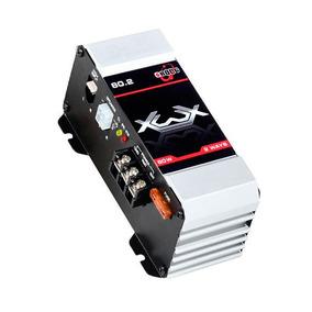 Módulo Amplificador Digital Boog Xwx 80.2 80w Rms 2 Canais