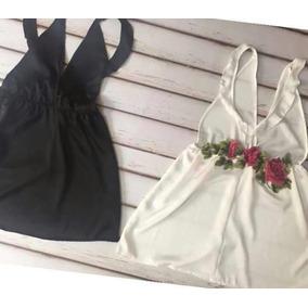 Vestido De Seda Blanco
