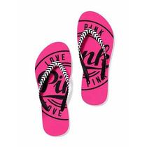 Ojotas Victoria Secret Pink Original